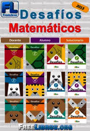 Desafíos matemáticos para primaria de 1er a 6to grado – 2013