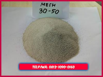 Jual Pasir silika mesh 30-50