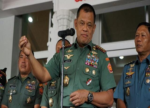 TNI Siap Hadapi Ormas yang Menentang Pancasila