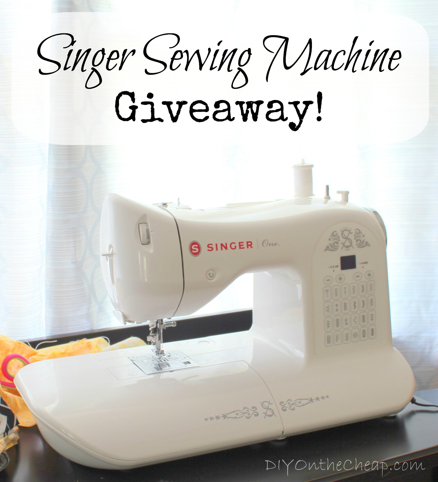 business giveaway machine singer sewing machine giveaway erin spain 7525