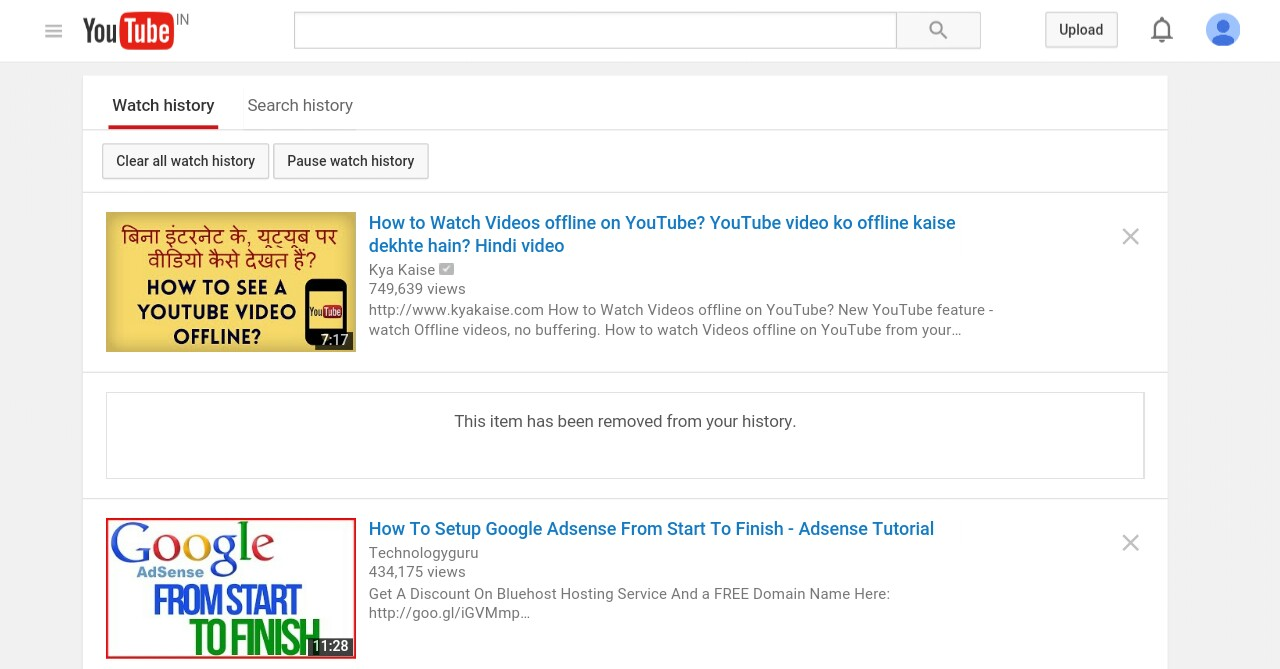 How To Delete Search History On Google Chrome Now Youtube Is Not Save Your Search  History