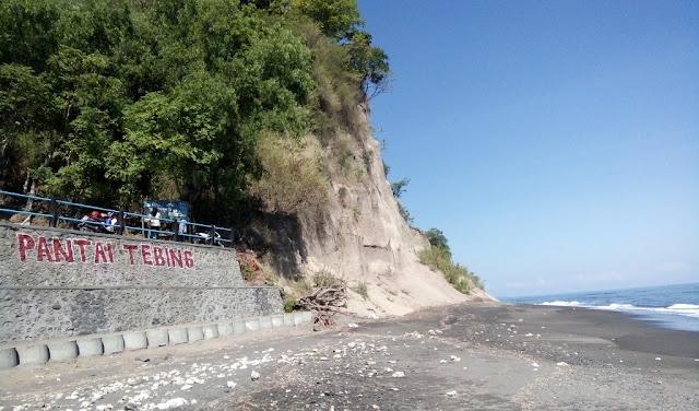 Pesona Pantai Tebing Gaet Wisatawan