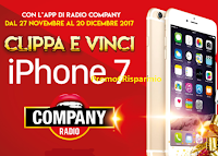 Logo Vinci gratis 3 smartphone Apple iPhone 7