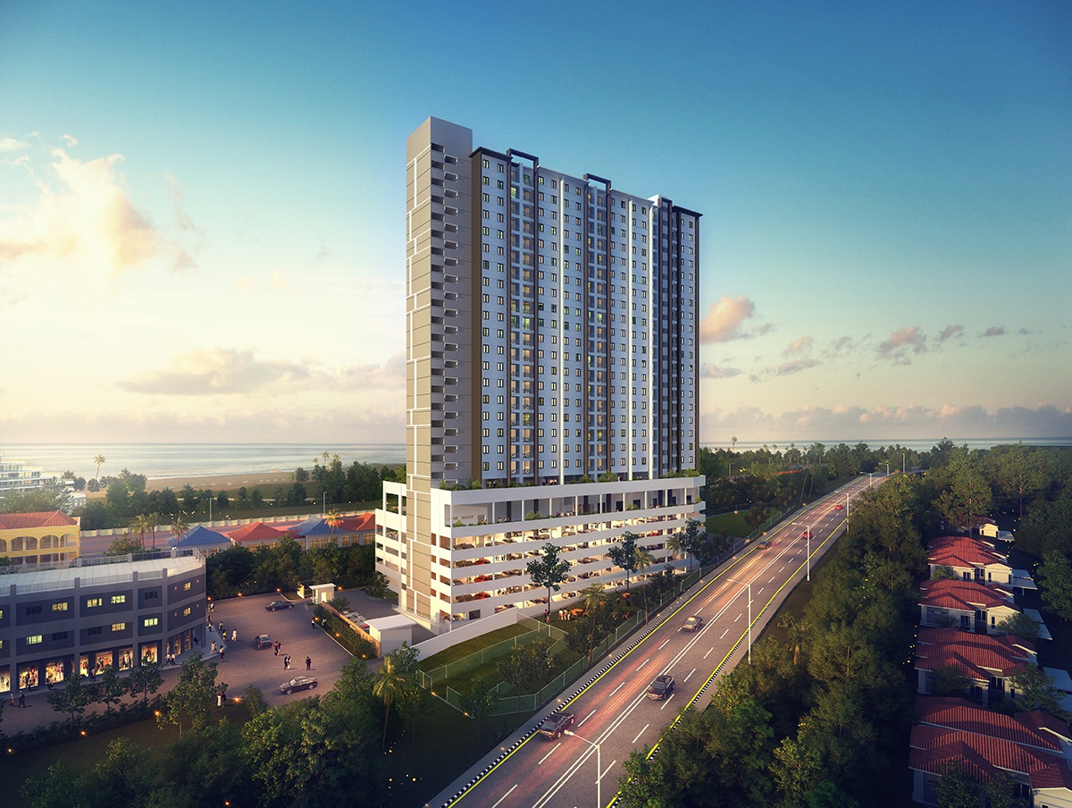 118 Island Plaza Seaview Family Suite by Joal Penang Malaysia