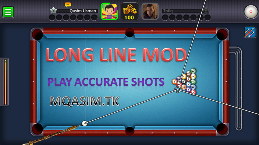 Download 8 Ball Pool Mod Apk   (Extended Stick ...