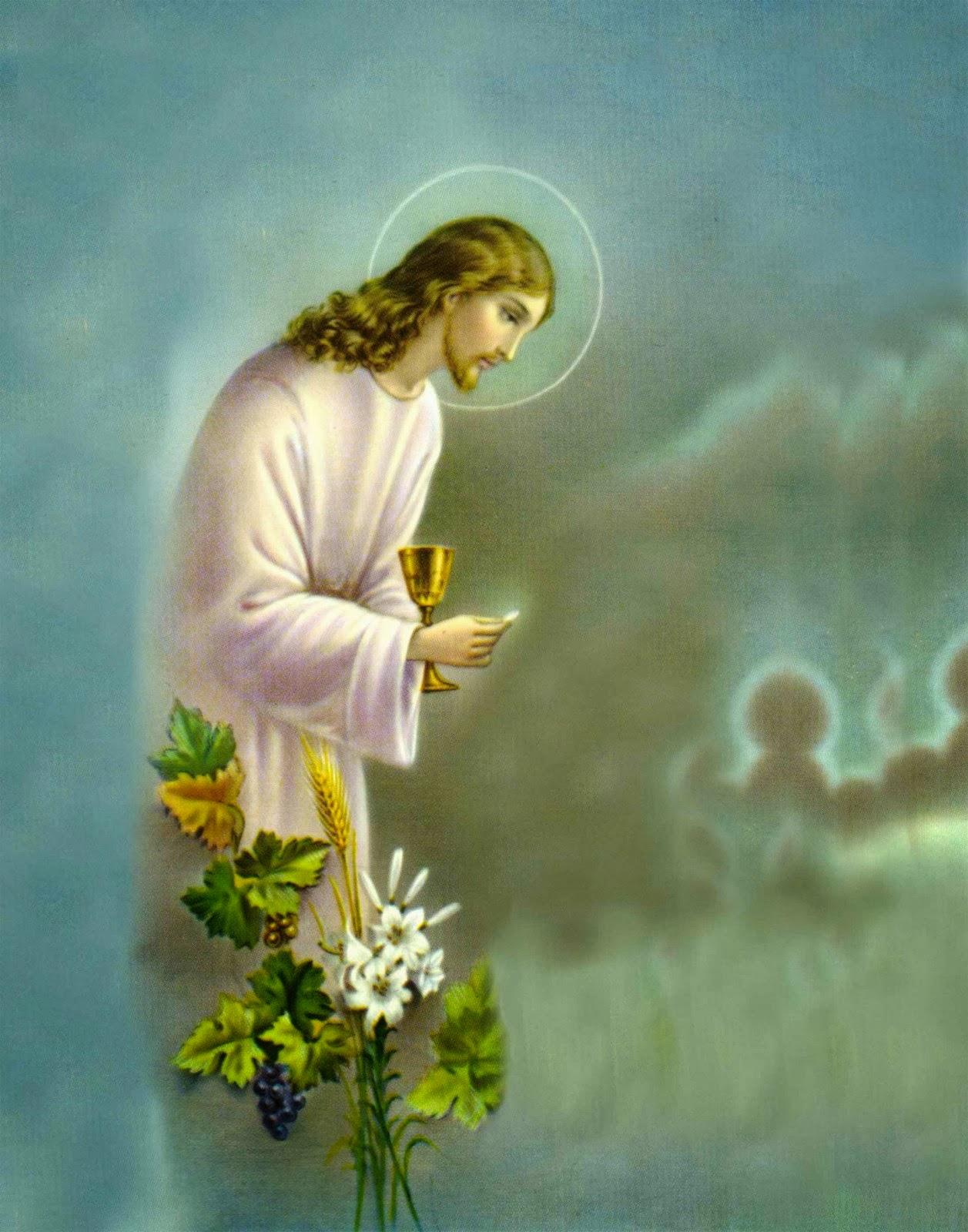 Bajar Fondos De Pantallas E Imagenes Fondo De Pantalla Semana Santa Jesus Y Vino