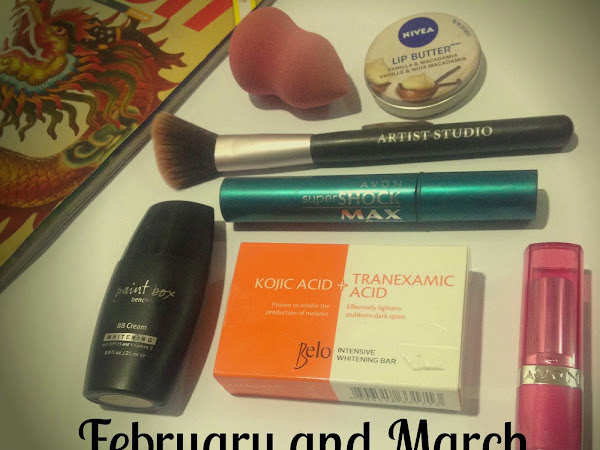 February and March Montly Favorites