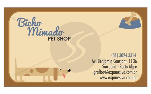 cartao de visita pet shop 9 - Cartões de Visita Pet Shop