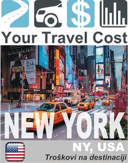 Njujork, NY, SAD – Trošak