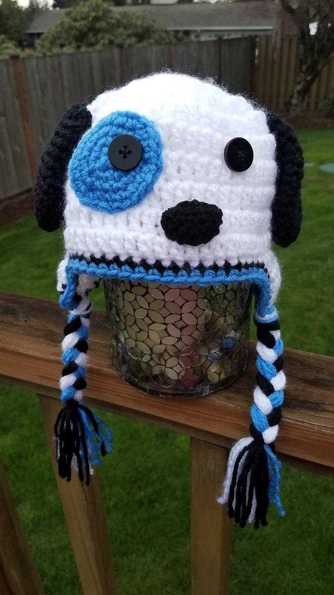b7d74846a69 Puppy Ear Flap Hat - Crochet