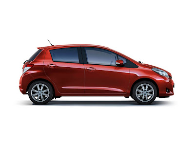 2012 Toyota Yaris for Europe