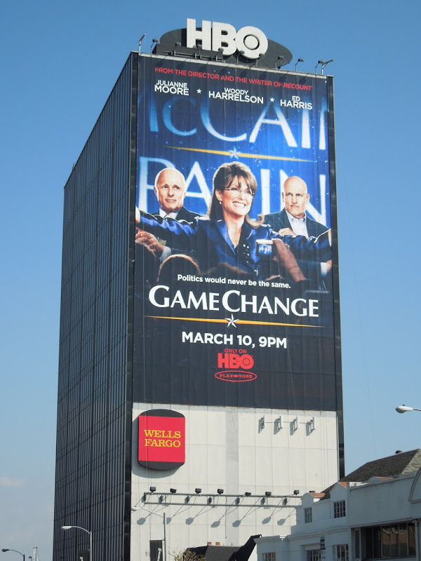 Game Change ad Sunset Strip