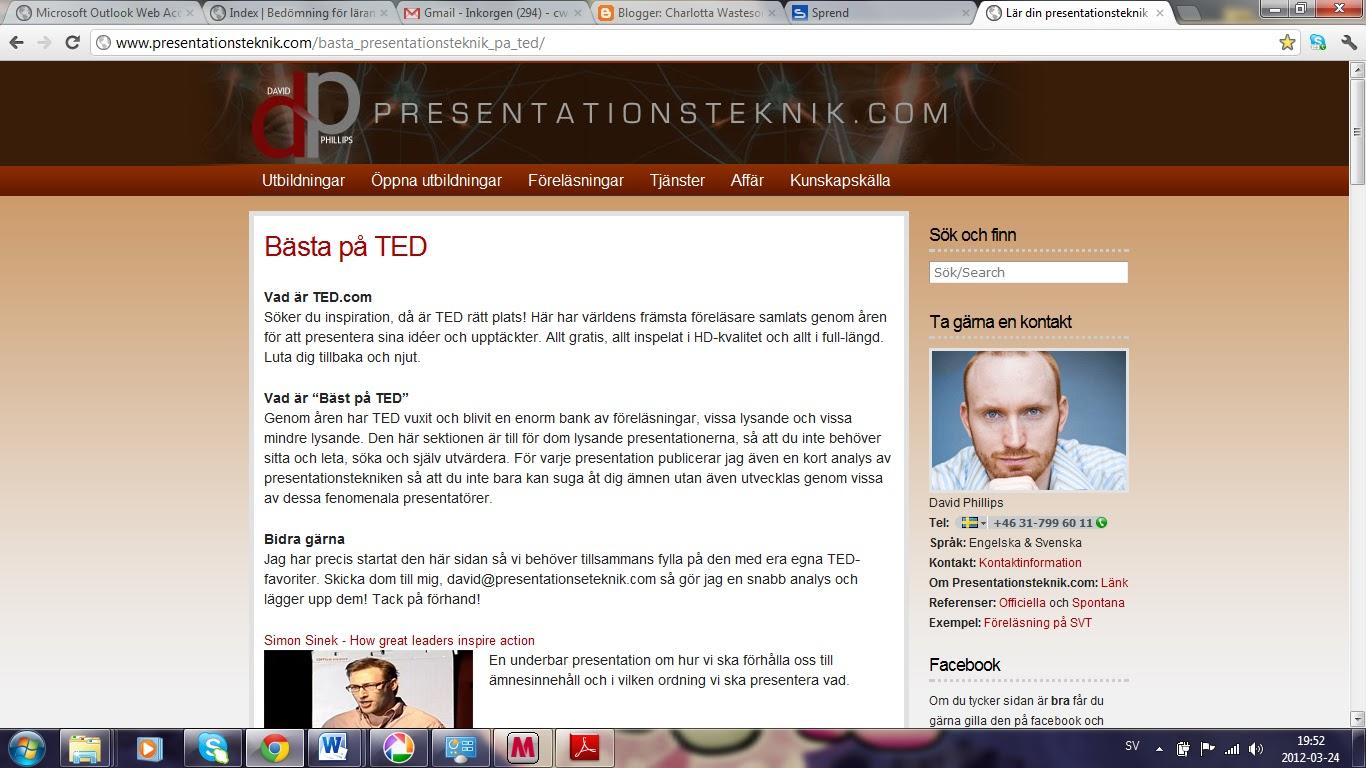 presentationsteknik på engelska