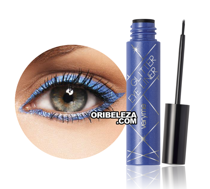 Eye Liner Glitter Very Me - Blue
