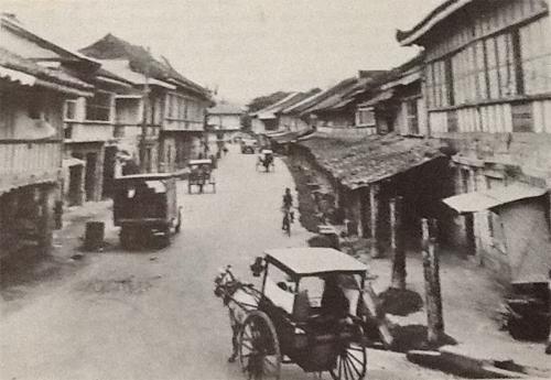 Undated photo of the old Calle Colon in Cebu City
