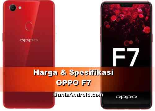 Harga HP OPPO F7 dan Spesifikasiny
