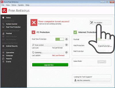 avira free antivirus not secure