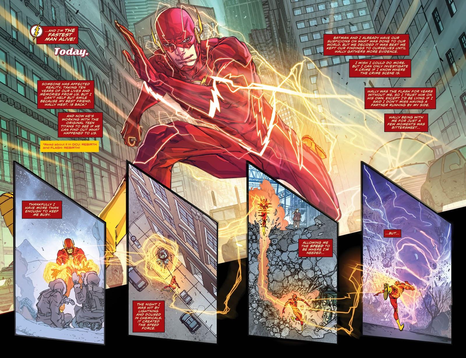 Teen help get the flash