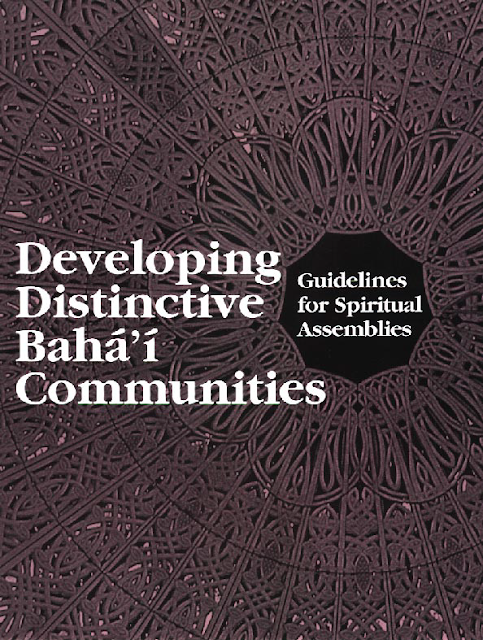 Developing Distinctive Bahá'í Communities
