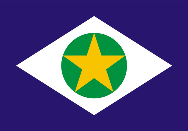 Bandeira do estado de Mato Grosso