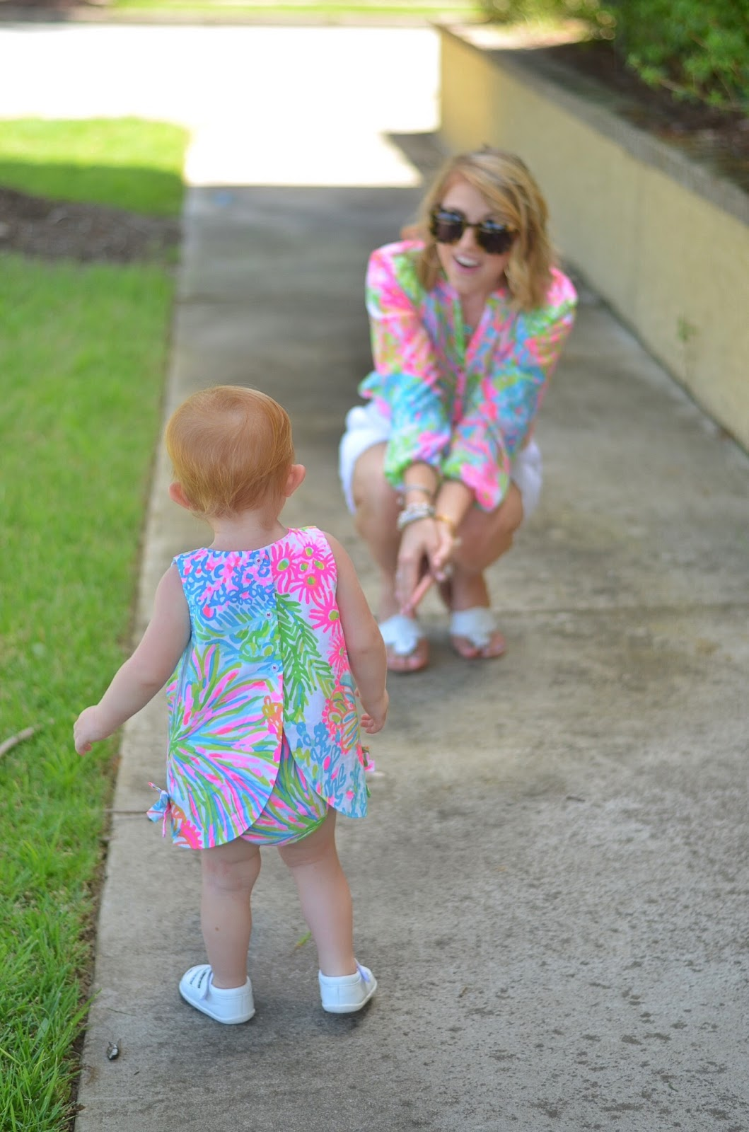 Mother & Daughter In Lilly