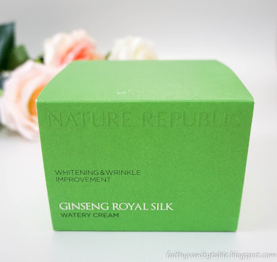 REVIEW OF NATURE REPUBLIC GINSENG ROYAL WATERY CREAM