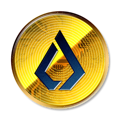 暗号通貨リスク新デザインverのフリー素材(青ver)