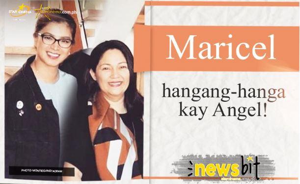 "Maricel Soriano Admires Angel Locsin Saying: ""Mahusay yung bata"""