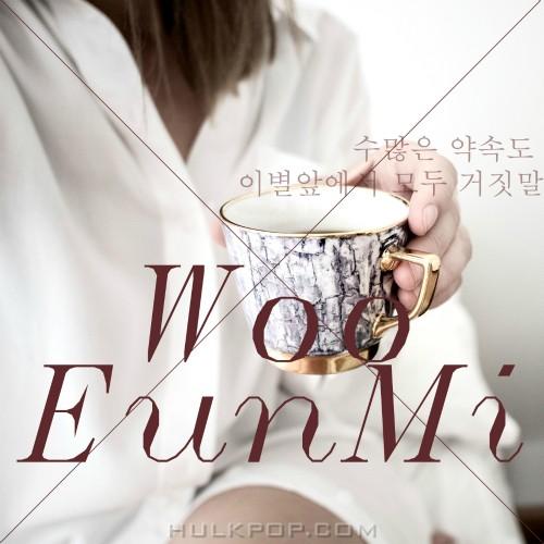 Woo Eun Mi – 수많은 약속도 이별앞에서 모두 거짓말 – Single
