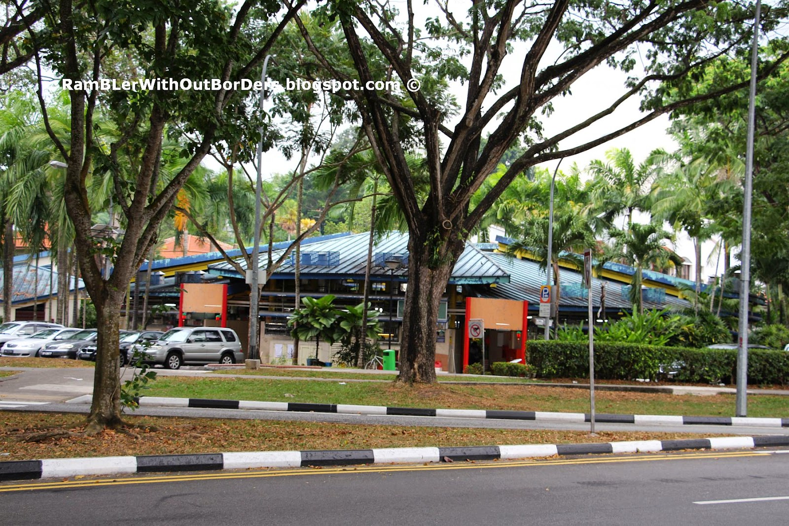 Hawker centre, Adam Road, Singapore