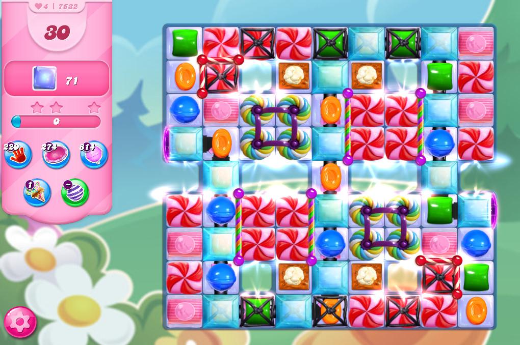 Candy Crush Saga level 7532