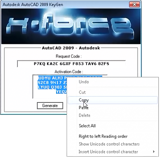 descargar keygen para autocad 2009 32 bits