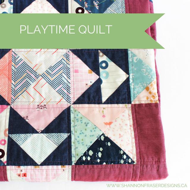 Playtime Quilt - Shannon Fraser Designs