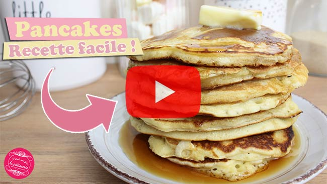 video pancakes faciles