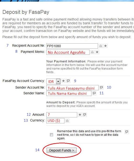 Cara deposit forex