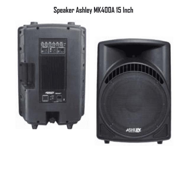 Harga Speaker Ashley MK400A 15 Inch