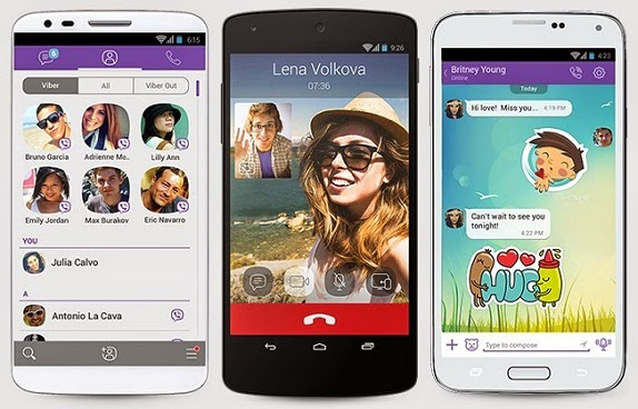 Viber Updated for Android