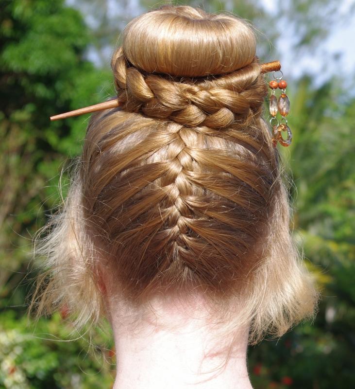 Braids & Hairstyles for Super Long Hair: Upside-Down ...