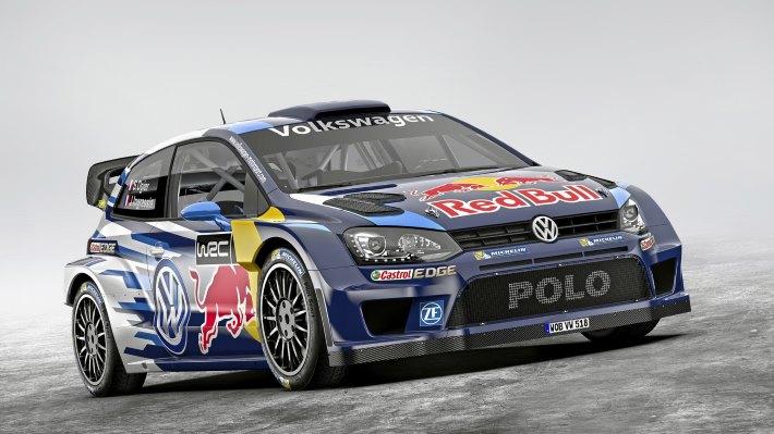 Wallpaper 3: Volkswagen Polo R WRC 2015