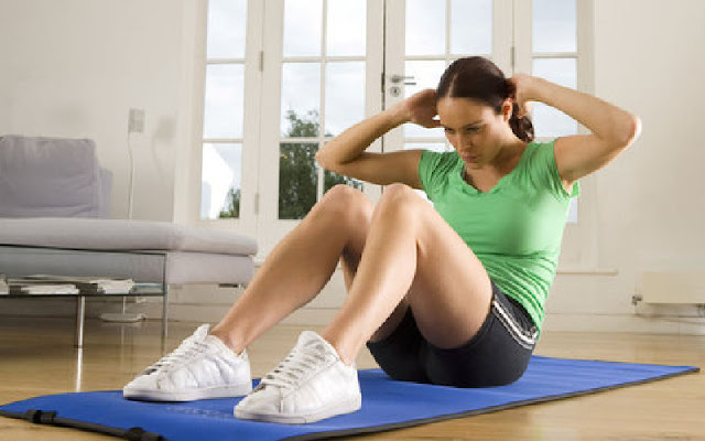olahraga untuk mengecilkan perut pada wanita