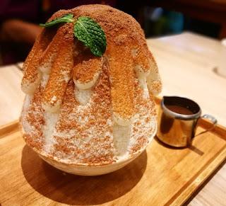 kuliner makan dessert enak MBK Bangkok
