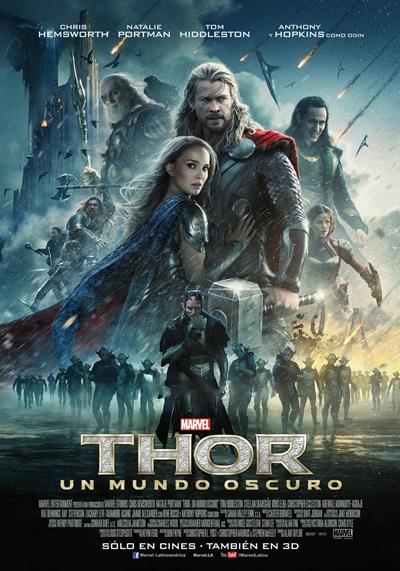 Thor: Un Mundo Oscuro DVDRip Latino