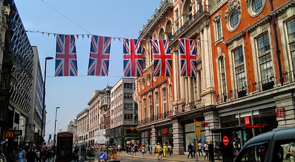 Oxford Street en Londres