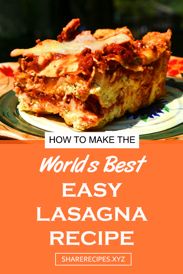 World's Best Lasagna Recipe | easy lasagna | homemade lasagna | how to make lasagna | quick lasagna recipe | oven lasagna recipe | delicious lasagna recipe | dinner lasagna #deliciouslasagnarecipe #lasagna #lasagnarecipe #easylasagna #italianfood #dinner