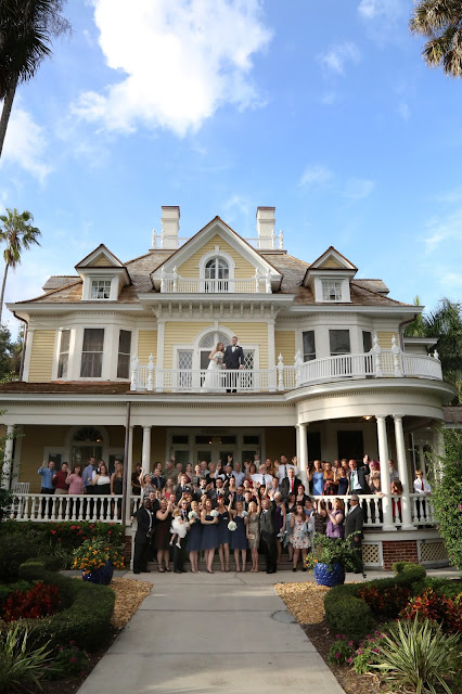 group photograph at the burroughs home