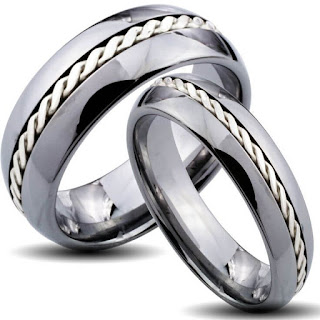 Wedding Rings His and Hers Matching Sets