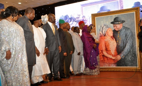 PIC+7+THANKSGIVING - PICTURES: Patience Jonathan's thanksgiving party