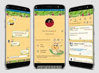 BBM MOD Theme Ulat Mumuku May terbaru