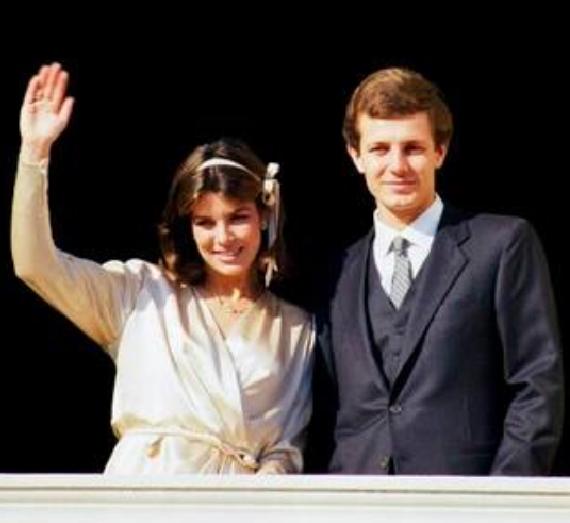 29 dicembre 1983  35 anni fa la principessa Carolina di Monaco sposava con rito civile