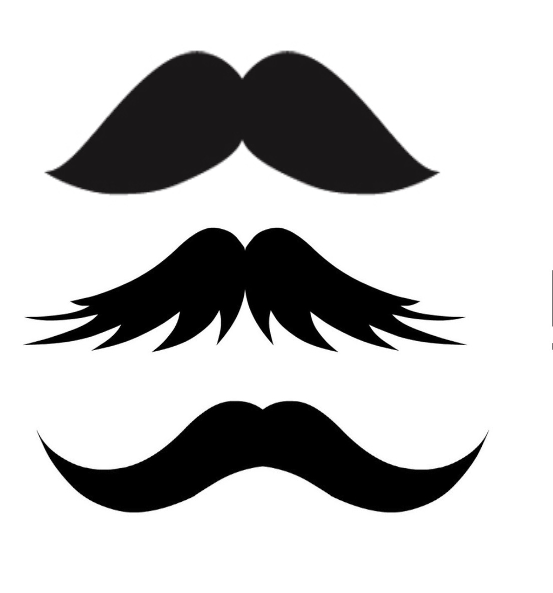 Ilysillyface diy mustache tutorials for Mustach template